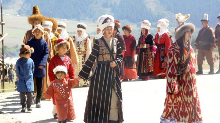 Аутентичная одежда кочевников из Оша