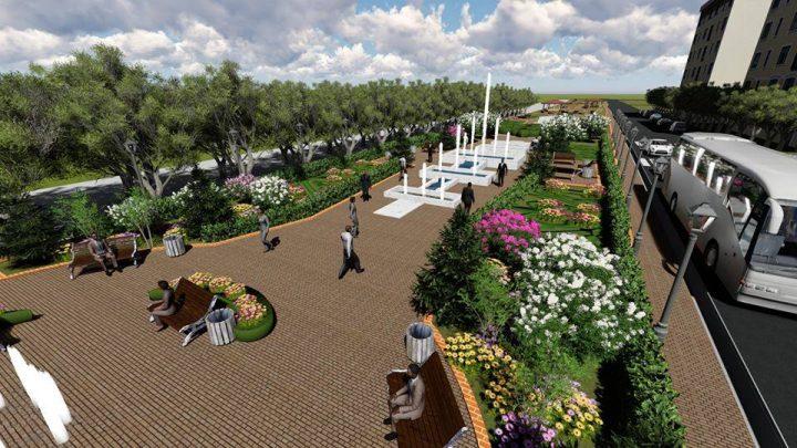 В Западном появится новая парковая аллея
