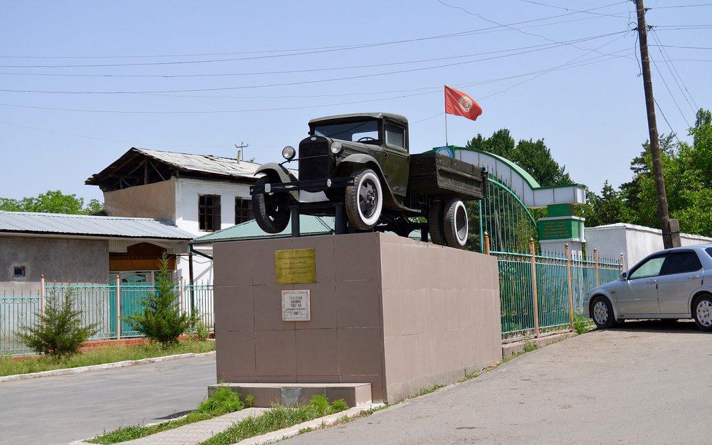 Самый популярный грузовичок Оша