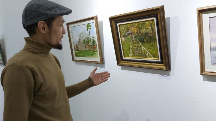 Оживающие пейзажи на полотнах Таалайбека Мусурманкулова