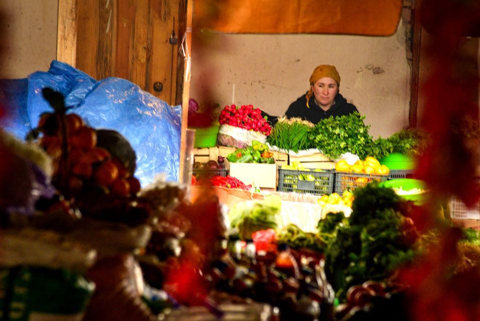 #Osh. По старому базару зимой
