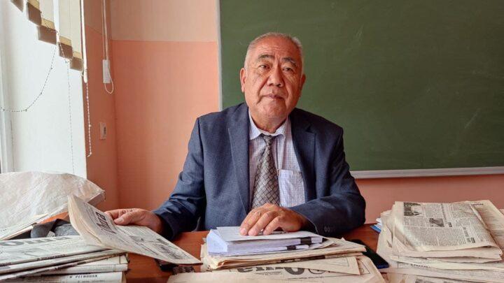 Мусабек агай, учитель из Аравана