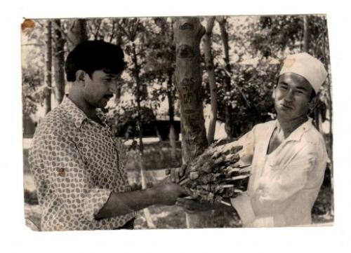 Photos from the family archive of Elmira Umarova