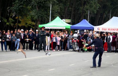 City celebrations in Osh, October 5, 2019. Photo by the press service of Osh City Hall.