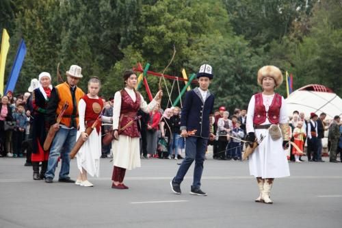 City celebrations in Osh, October 5, 2019. Photo by the press service of Osh City Hall.